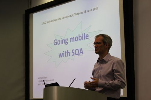 Photo of Martyn Ware, Scottish Qualifications Authority (SQA)
